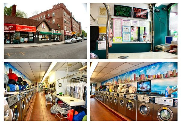 kew gardens queens new york laundromat dry clean business